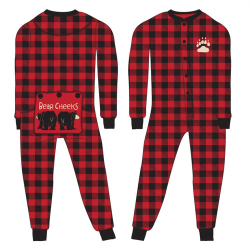 KIDS PLAID FLAPJACKS BEAR CHEEKS 10-14 KFS126