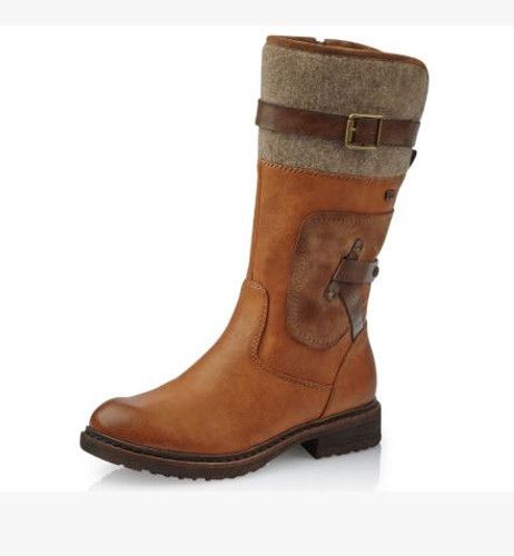 TALL BOOT WP MELTON CUFF CAYENNE