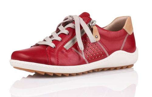 CASUAL TIE SHOE RED R1417-33 R1417-33