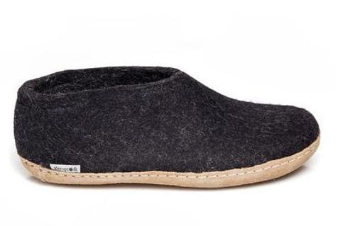 GLERUP WOOL SHOE FULL BACK MENS