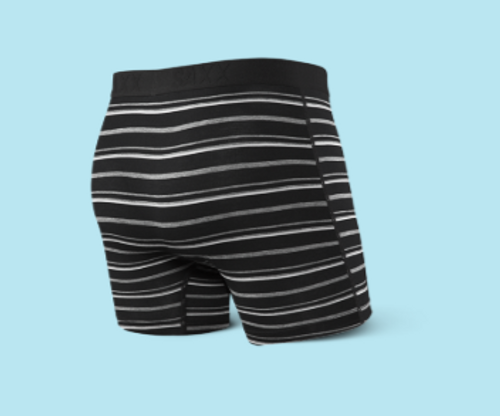 VIBE BOXER BRIEF - BLACK COAST STRIPE