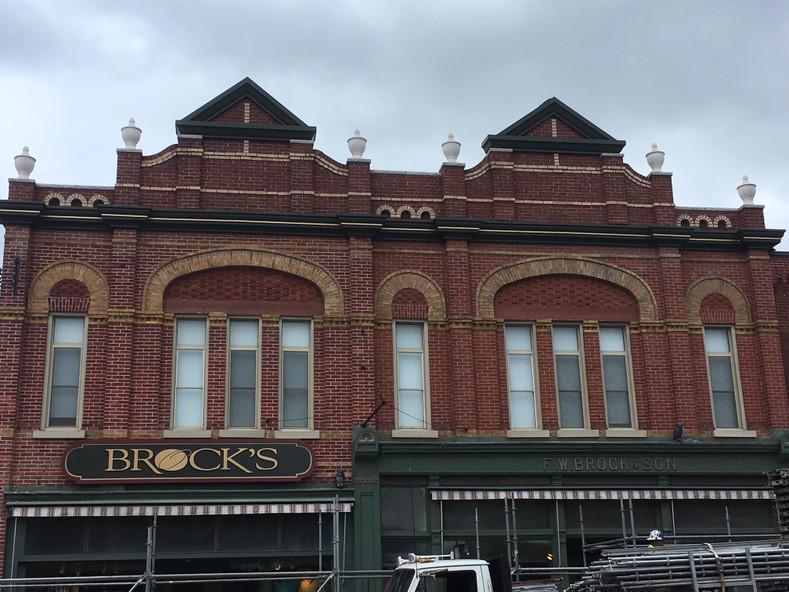 168 Queen St Building Restored 2018