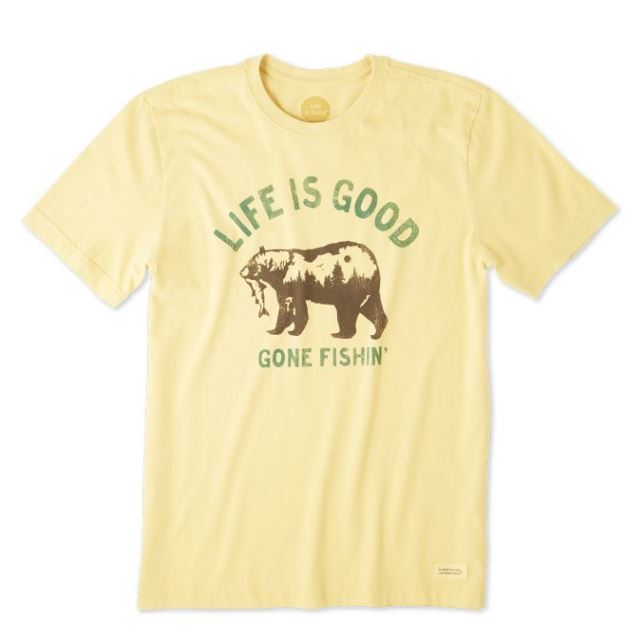 Life is Good Crusher Tee Knockout Ski Life is Good.