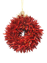 8 inch Natural Piquin wreath