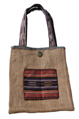 Upcycled Tote Bag - Pot and Chiles