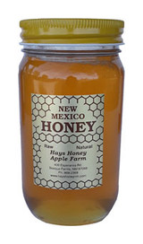 24 oz. New Mexico White Clover Honey (curb-side only)