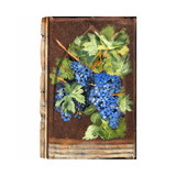 Vintage Metal Painting -  On the Vine