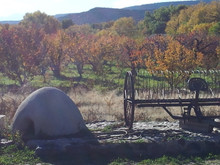 New Mexico orno (outside traditional oven).