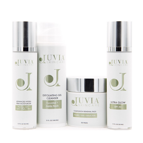 Our Rosacea Kit is a complete selection of products for red, sensitized skin.It helps to restore skin to a more even skin tone appearance, provides mild exfoliation to help smooth skin texture and minimizes the appearance and feel of inflammation. It also helps replenish hydration and supports a healthy skin barrier function.