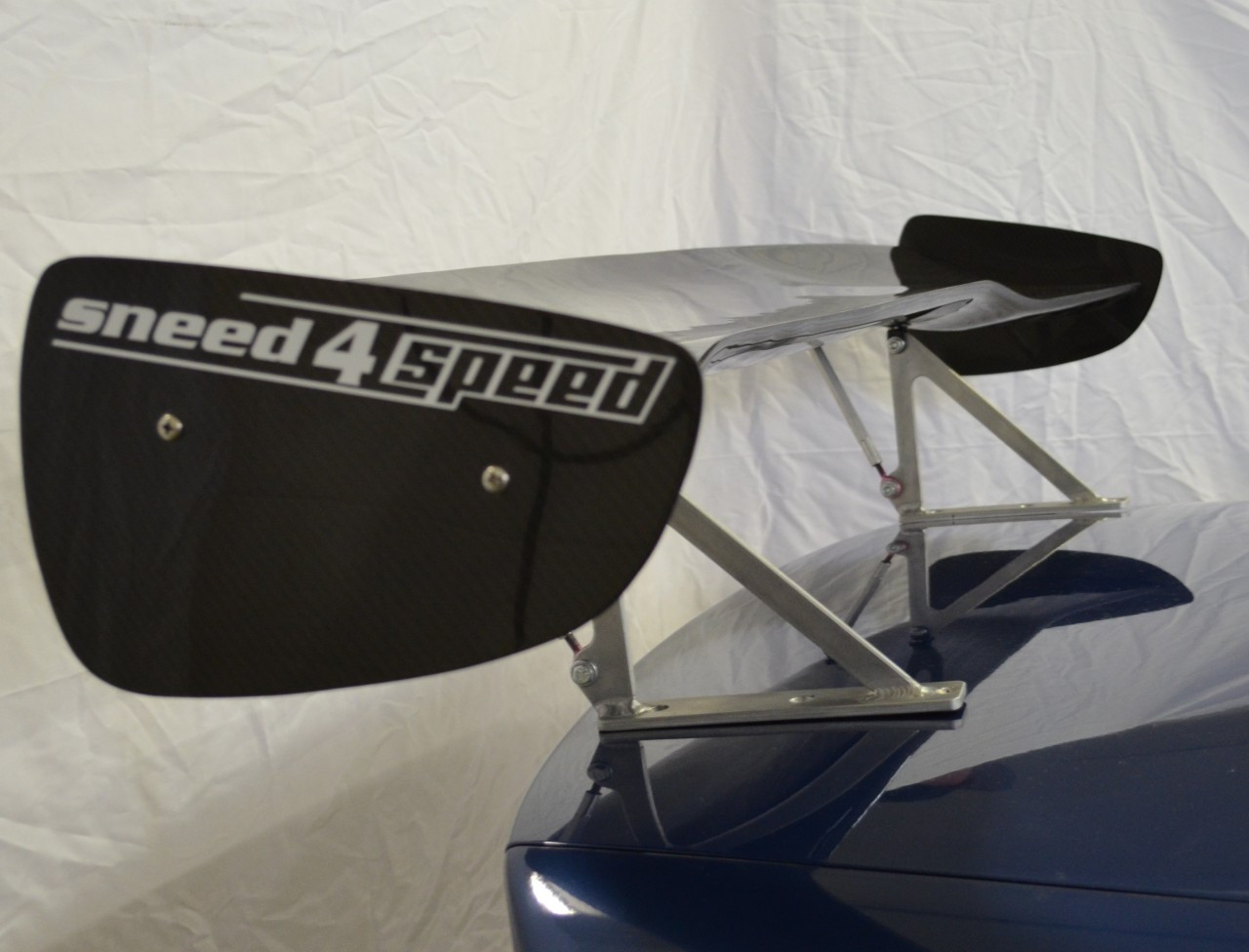 BMW e46 323i sneed4speed carbon race wing