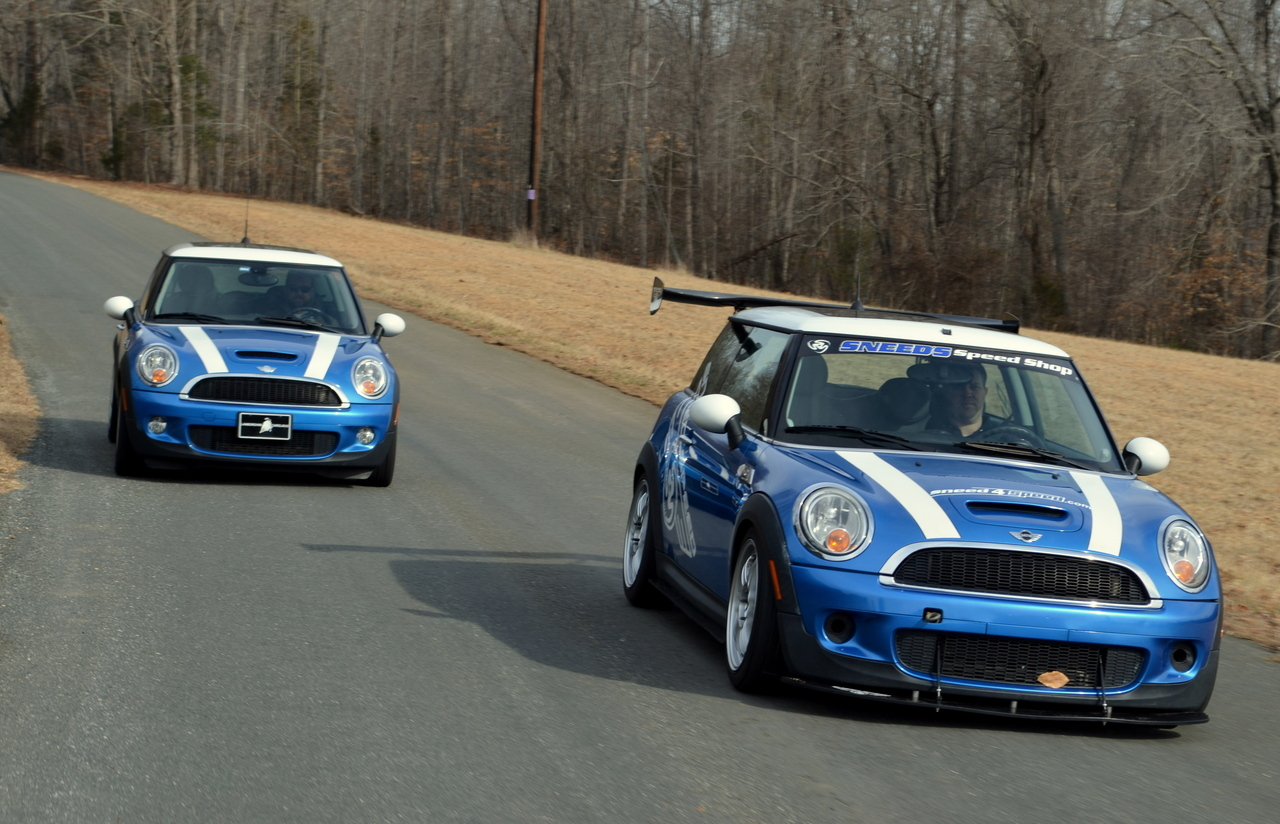 R56 MINI S Aero Kit vs stock