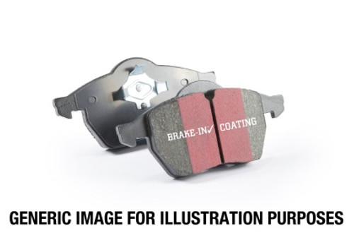 EBC 14+ BMW i3 Electric Ultimax2 Front Brake Pads