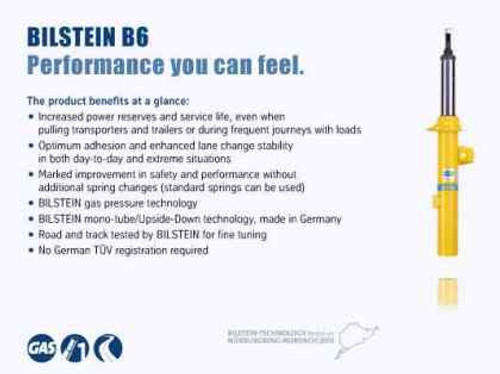 Bilstein B6 HD 14-15 Mini Cooper Base/S Front Right Twintube Strut Assembly