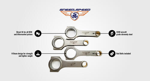 Sneed4Speed R56 Forged Connecting Rod