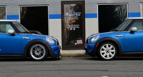 KW Coil over vs Stock ride height