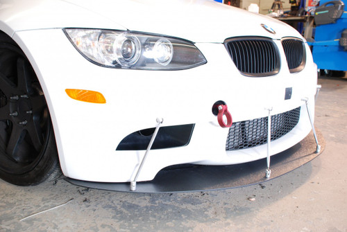 sneed speed front splittter for e92 m3 front side view