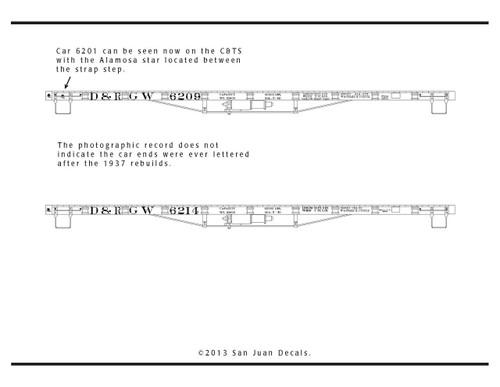 15mm - Fn3 - 1:20.3  D&RGW 6200 Series Flat Car