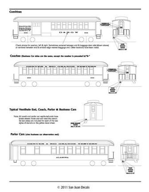 Sn3 D&RGW Passenger Car 1912-1951