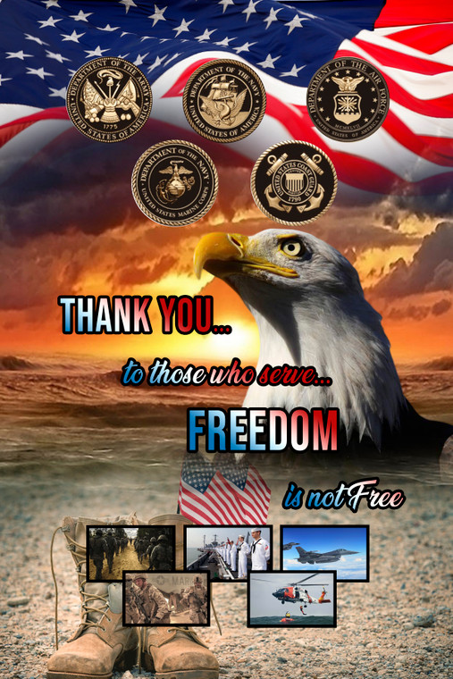 A tribute to those who serve in our military.