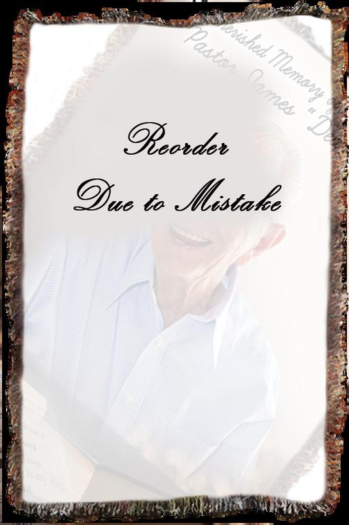 Revise/Correct Previous Order
