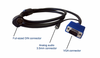 ZeeVee Zv710-6 Hydra VGA & Stereo Audio Breakout Cable for ZvPro - 6 ft