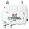 PCT International PCT-MA2-2PN RF Multimedia 2 Port Cable TV Drop Amplifier with Passive Return Path