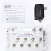 PCT-VCF-18AUPIN RF CATV MoCA Bypass Amplifier with Active Return - complete turnkey package