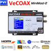 VeCOAX Minimod-2 1080p Full HD Dolby Ultra Compact Digital HD TV Modulator - Convert Any HDMI to an HDTV Channel and distribute to all TVs over coax
