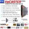 ProVideoInstruments VeCASTER-HD-HEVC Professional HD 1080p ITPV Encoder Spec Sheet