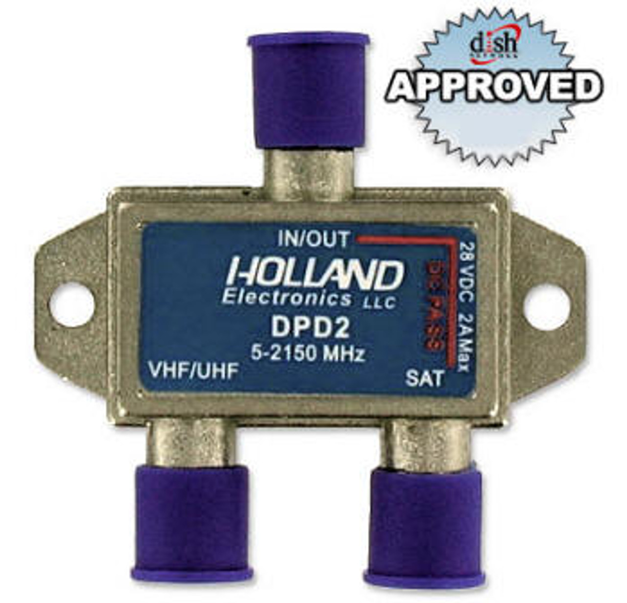 Qty: 2 NEW Holland STVC Satellite Diplexer