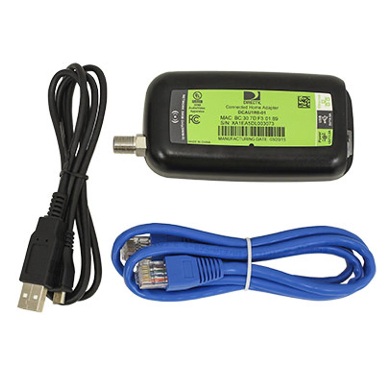 2 PACK ... Third Generation DIRECTV Broadband DECA Ethernet to Coax Adapter