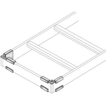 Black Box Ladder Rack Runway Termination Kit