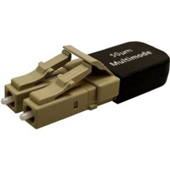 Quiktron Duplex LC 50/125 Multimode Fiber Loopback