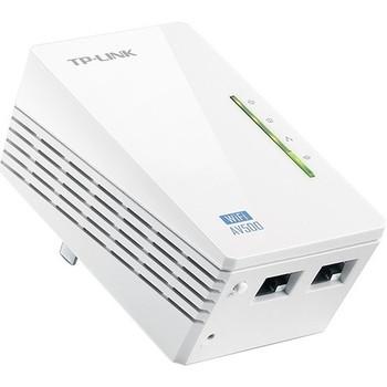 TP-LINK TL-WPA4220 300Mbps Wireless AV500 Powerline Extender, 500Mbps Powerline Datarate, 2 Fast Ethernet ports, HomePlug AV, Plug and Play, WiFi Clone Button, Single Pack