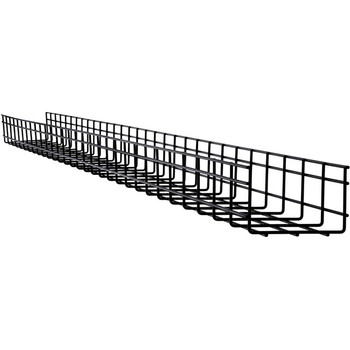 Tripp Lite Wire Mesh Cable Tray - 150 x 100 x 3000 mm (6 in. x 4 in. x 10 ft.)