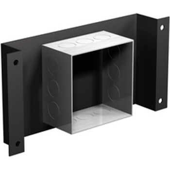 Winsted 64264 Mounting Tray for Electrical Box - Black