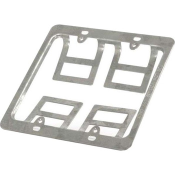 C2G Mounting Bracket for Wall Plate - Silver