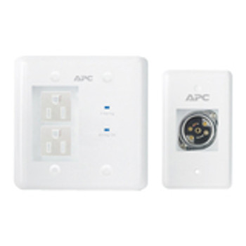 APC by Schneider Electric AV INWALLKIT-WHT In-Wall Power Filter and Connection Kit