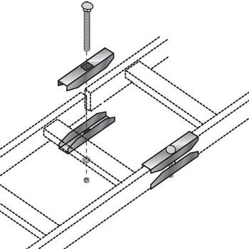 Black Box Ladder Rack Butt Splice Kit