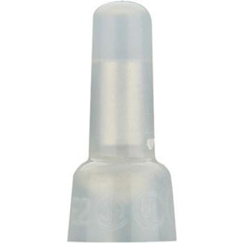 The InstallBay Crimp Cap Long Neck Nylon 16-14 Gauge Package of 100