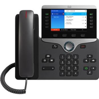 Cisco 8841 IP Phone - Corded - Wall Mountable - Charcoal