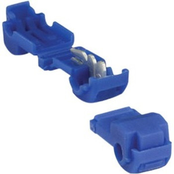 The InstallBay Blue Insulation Displacement Connector 16-14 GA - 100 Pack