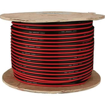 METRA Speaker Wire 16 Gauge Red-Black Paired Coil of 500 Feet