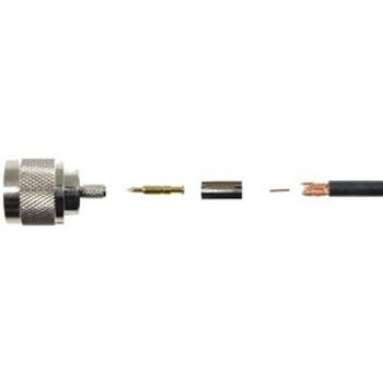 WilsonPro N-Male Crimp Connector (RG-58)