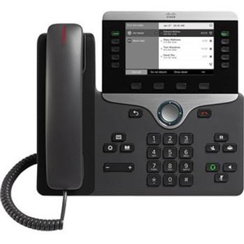 Cisco 8811 IP Phone - Corded - Wall Mountable - Black