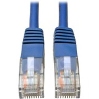 Tripp Lite 3ft Cat5e / Cat5 350MHz Molded Patch Cable RJ45 M/M Blue 3'