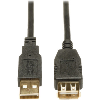 Tripp Lite 10ft USB 2.0 Hi-Speed Extension Cable Shielded A Male / Female