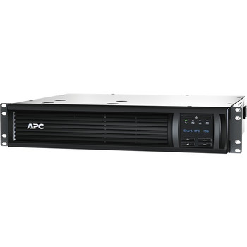 APC Smart-UPS 750VA LCD RM 120V with Network Card- Not sold in CO, VT and WA