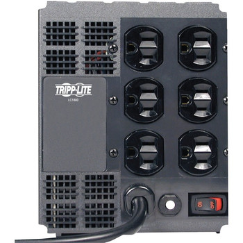 Tripp Lite 1800W Line Conditioner w/ AVR / Surge Protection 120V 15A 60Hz 6 Outlet 6ft Cord Power Conditioner