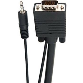 Link Depot Mini-phone/SVGA A/V Cable SVGA-15-A